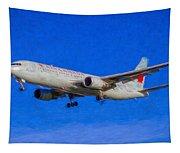 Air Canada Boeing 767 Art Tapestry
