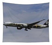 Air New Zealand Hobbit Boeing 777 Tapestry