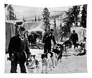 Alaskan Dog Sled, C1900 Tapestry
