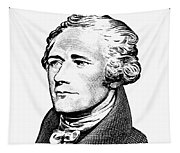 Alexander Hamilton - Founding Father Graphic  Tapestry