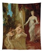 Allegory Of Painting Tapestry