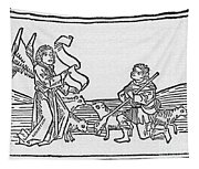 Annunciation To Shepherds Tapestry