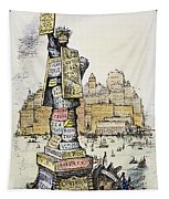 Anti-trust Cartoon, 1889 Tapestry
