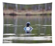 Arctic Loon Tapestry