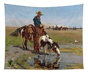 At The Watering Hole Tapestry