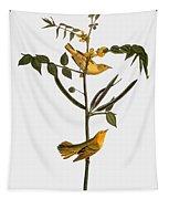 Audubon: Warbler, 1827-38 Tapestry