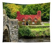Autumn Cottage Tapestry