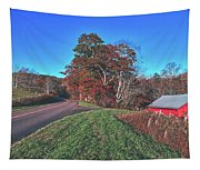 Autumn Countryside - North Carolina Tapestry