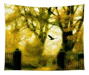 Autumn Graveyard Tapestry