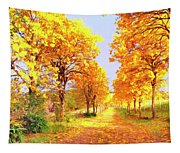 Autumn In Tuscany Tapestry