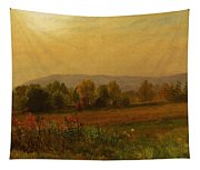 Autumn Landscape New England Tapestry
