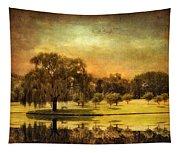 Autumns Golden Mirror Tapestry