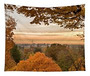 Autumn On The Hill Tapestry