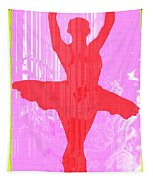 Ballet Dancer Tapestry
