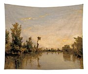 Banks Of The Seine Tapestry