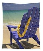 Beach Chair Tapestry