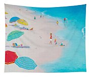 Beach Painting - One Summer Tapestry