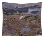 Beartooth Highway Cirques Tapestry