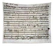 Beethoven Manuscript Tapestry