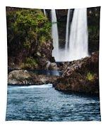 Big Island Waterfall Tapestry