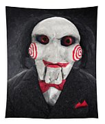 Billy The Puppet Tapestry