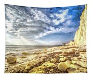 Birling Gap And Seven Sisters Art Tapestry
