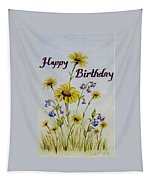 Birthday Card Tapestry