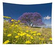 Blossoming Jacaranda Tapestry