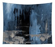Blue Abstract 12m2 Tapestry