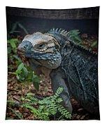 Blue Iguana Tapestry