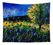 Blue Poppies  Tapestry