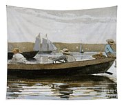 Boys In A Dory, 1873  Tapestry