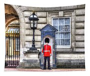 Buckingham Palace Queens Guard Art Tapestry