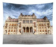 Budapest Parliament Tapestry