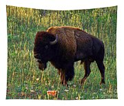 Buffalo Custer State Park Tapestry