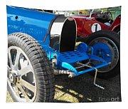 Bugatti Racer Tapestry