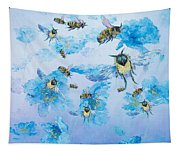 Bumble Bees Tapestry