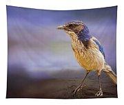 Blue Scrub Jay Tapestry