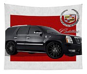 Cadillac Escalade With 3 D Badge  Tapestry
