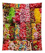 Candy Stand - La Bouqueria - Barcelona Spain Tapestry