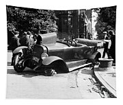 Car Accident, C1919 Tapestry