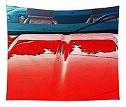Car Hood Reflection Bump Map Tapestry