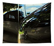 Car Reflection 8 Tapestry