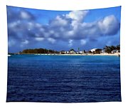 Caribbean Sea And Beach Tapestry