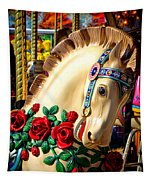 Carousel Horse  Tapestry