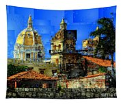 Cartagena Colombia Tapestry