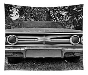 Chevrolet Bel Air Black And White 2 Tapestry