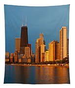 Chicago Skyline Tapestry