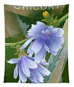Chicory Cornflower Print Tapestry