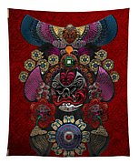 Chinese Masks - Large Masks Series - The Demon Tapestry